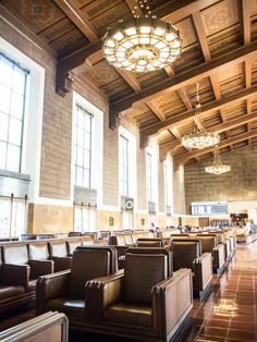 36cd43e037 Must visit while in Los Angeles  Union Station (most picturesque place ever)