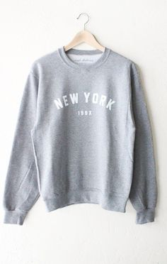 NYCT Clothing New York 199x Sweater - Grey