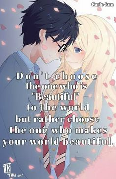 True Shigatsu wa kimi no uso Carlo~kun Geek Love Quotes, True Love Quotes, Amazing Quotes, Sad Quotes, Life Quotes, People Change Quotes, Cheer Up Quotes, April Quotes, Animes To Watch