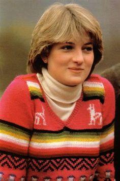 Lady Diana Spencer takes a pre-wedding break at Balmoral, May, 1981