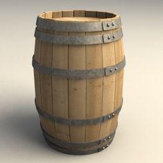 Barrel 3d model free