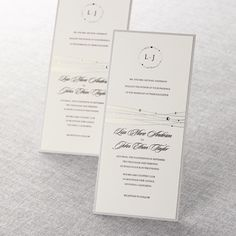 Urban Couture with Jewels Wedding Invitations