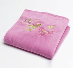 1 pcs Kids Blanket For Children Coral Fleece Cartoon Embroidered Soft Cartoon Rectangle Home Kids Sheet Child Warm Cheap Blankets, Kids Blankets, Small School Bags, Small Bags, Kids Room Bed, Kids Sheets, Pink Blanket, Embroidered Towels, Stylish Home Decor