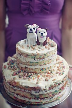 Drooling Over This Birthday Confetti Cake From Momofuku Milk Bar Doggie Puppy