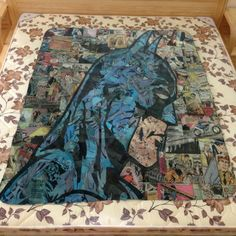 New Batman Comic Dark Knight Custom Vintage Blanket