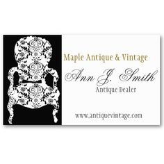 Sample interior design furniture business card by arc reations business card for mom vintage furniture business cards by 911business bw black and white lace design great for interior decorator 2460per pack of 100 colourmoves