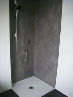 Bad Und Feuchträume Fugenlos In Betonoptik Gespachtelt, Wasserabweisende  Wandspachtelung: Zementär Oberflächen GmbH