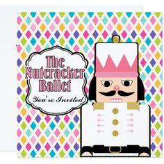 Nutcracker on Diamonds Card
