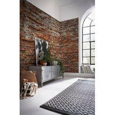 "Brewster Home Fashions Essentials Loft 33' x 20.5"" Brick Wallpaper Roll   Wayfair"