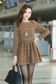 Stylish Winter Outfits, Winter Fashion Outfits, Fashion Dresses, Modest Dresses, Casual Dresses, Short Dresses, Modern Hijab Fashion, Asian Fashion, Wholesale Clothing