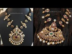 Black Dori Necklace Designs Indian Traditional Jewellery