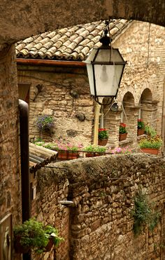 Spello Italy - lovely place!  Known for their frescoes!