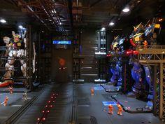 GUNDAM GUY: Gundam Z Diorama: RG 1/144 Gundam Mk-II & Zeta Gundam