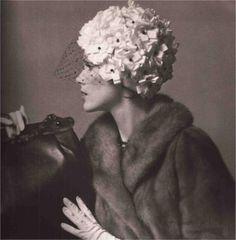Jean Barthet, Hat, in L'Officiel, 1960