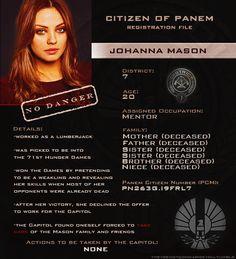 Johanna Mason Dear God Johanna I'm so sorry Hunger Games Characters, Hunger Games Problems, Divergent Hunger Games, Hunger Games Memes, Hunger Games Fandom, Hunger Games Catching Fire, Hunger Games Trilogy, Suzanne Collins, Katniss And Peeta