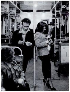 Robert Doisneau, Le Muguet du Métro, 1953