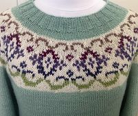 Ravelry: Kaleido-Yoke Sweater pattern by Suz Ryan