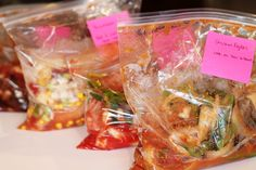 5 Crockpot Freezer Recipes with Shopping List-pt 2