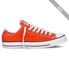 Converse Chuck Taylor Fresh Colors – orange Sneakers