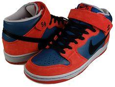 wholesale dealer 101cc 75fd8 Nike Dunk Mid Pro SB Spiderman