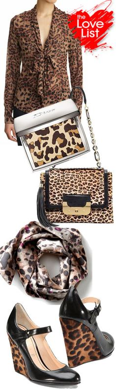 I cant get enough of the animal print!!