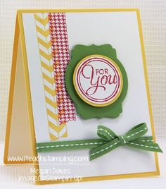 stampin up washi tape | Chalk Talk Meets Washi Tape (Tape It) from Stampin' Up!