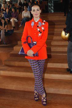 Miu Miu Front Row - Berenice Bejo in Prada