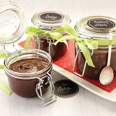 Homemade Hot Fudge Sauce This Quick And Easy Hot Fudge Sauce Can Be Customized To Add Your Favorite Flavors For A Unique Twist. Just Desserts, Delicious Desserts, Yummy Food, Dessert Sauces, Dessert Recipes, Chutney, Homemade Hot Fudge, Homemade Gifts, Diy Gifts
