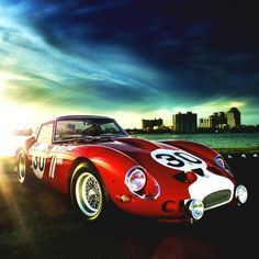 The very first 250 GTO ever made  1961 Ferrari 250 GTO Berlinetta Series 1 | Gran Turismo Omologato | Grand Touring Homologated | Sports Coupe Series 1 | Bizzarrini et Scaglietti | Chassis No 3223GT | 3.0L Tipo 168 V12300 hp | Top Speed 280 kph 174 mph | Livery No 30 | GTO No 1 | Racing car produced by Ferrari between 1962 to 1964 for the Group 3 Grand Touring Car category | A total of only 39 units were produced | Thirty Three 62-63 Series 1 | Three 1964 Series 2 | Three 330 GTO ...
