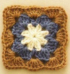 Pretty and Simple Crochet Square Pattern. More Patterns Like This!
