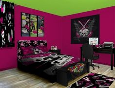 15 gorgeous gothic bedroom ideas awesome my boyfriend for Emo bedroom ideas