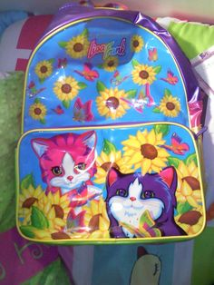 I had this backpack. These stupid plastic backpacks never lasted a whole  year. They. Lisa Frank ... bcc5a9ca0b81