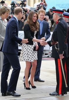 warner bros, duchess of cambridge, the duchess, prince harry, studios, prince william, kate middleton, british royal, short dress