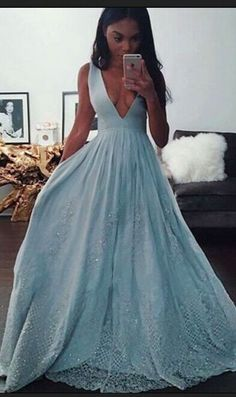 High Low Prom Dresses,Charming Prom Dresses,Pretty Prom Dresses, Light Blue Prom Dresses,2017 Prom Dresses,V-neck Prom Dresses,Elegant Prom Dresses,Prom Dress,Prom Gowns,Lace Prom Dresses,Formal Evening Dresses,Cute Dresses,Sweet 16 Dresses