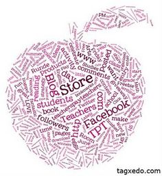 Tagxedo....like Wordles, but you can choose a shape!