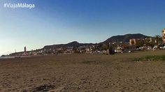 Vistas de la localidad al fondo y sus playas.
