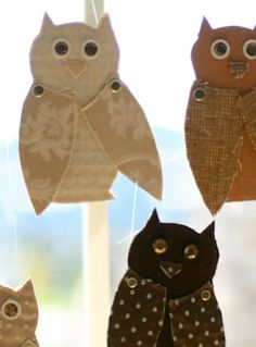 I want these owls in my window