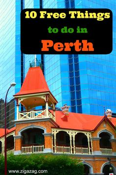 Perth is a vibrant city with lots of summer sunshine. There are a great number of free things to do in Perth. Join Jo and discover 10 of the best ...