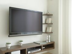 How to Wire a Wall-Mounted Flat Screen