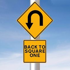 """""""Go back to square one"""" means """"to start from the beginning"""". Example: If this guy rejects our offer, we'll have to go back to square one and start the whole recruitment process again. Get our apps for. English Vinglish, English Idioms, English Study, English Words, English Vocabulary, Learn English, English Reading Skills, Teaching English, Reading Comprehension Test"""