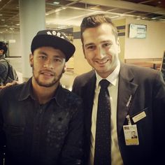 "dsjneymar: ""Frankfurt Airport - 06.10.2014 Posted by @emre26official via Instagram """