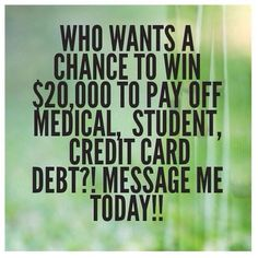 Pay off your debt!