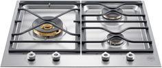 """Bertazzoni Professional Series PMB24300 - 24"""" Segmented Gas Cooktop"""