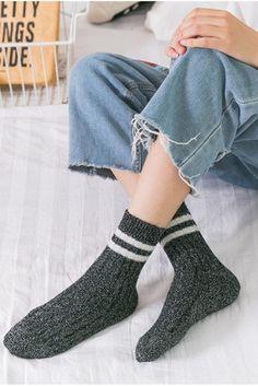 73715d1dc00 Pinklouds™ Retro tinsel rabbit cashmere socks-Lumina Cashmere Socks