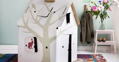 GreenBuilding magazine - Casa Cabana. Una casetta di cartone riciclato tra design e creatività