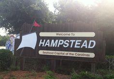 Hampstead, North Carolina.  Seafood Capital of the Carolinas!