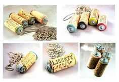 I think these are cute ideas, turn them into keychains. DIY: 37 CREATIVE IDEAS HOW TO USE WINE CORK