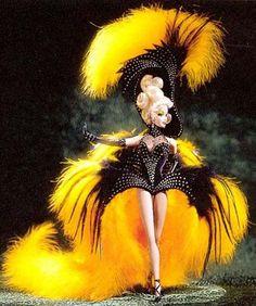 "Bob Mackie ""Dream Halloween"" Showgirl charity doll"
