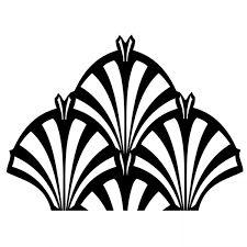 simple art nouveau patterns - Google Search