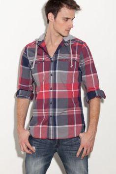 Sullivan Long-Sleeve Plaid Shirt